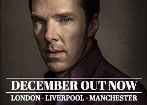 December Issue: Benedict Cumberbatch